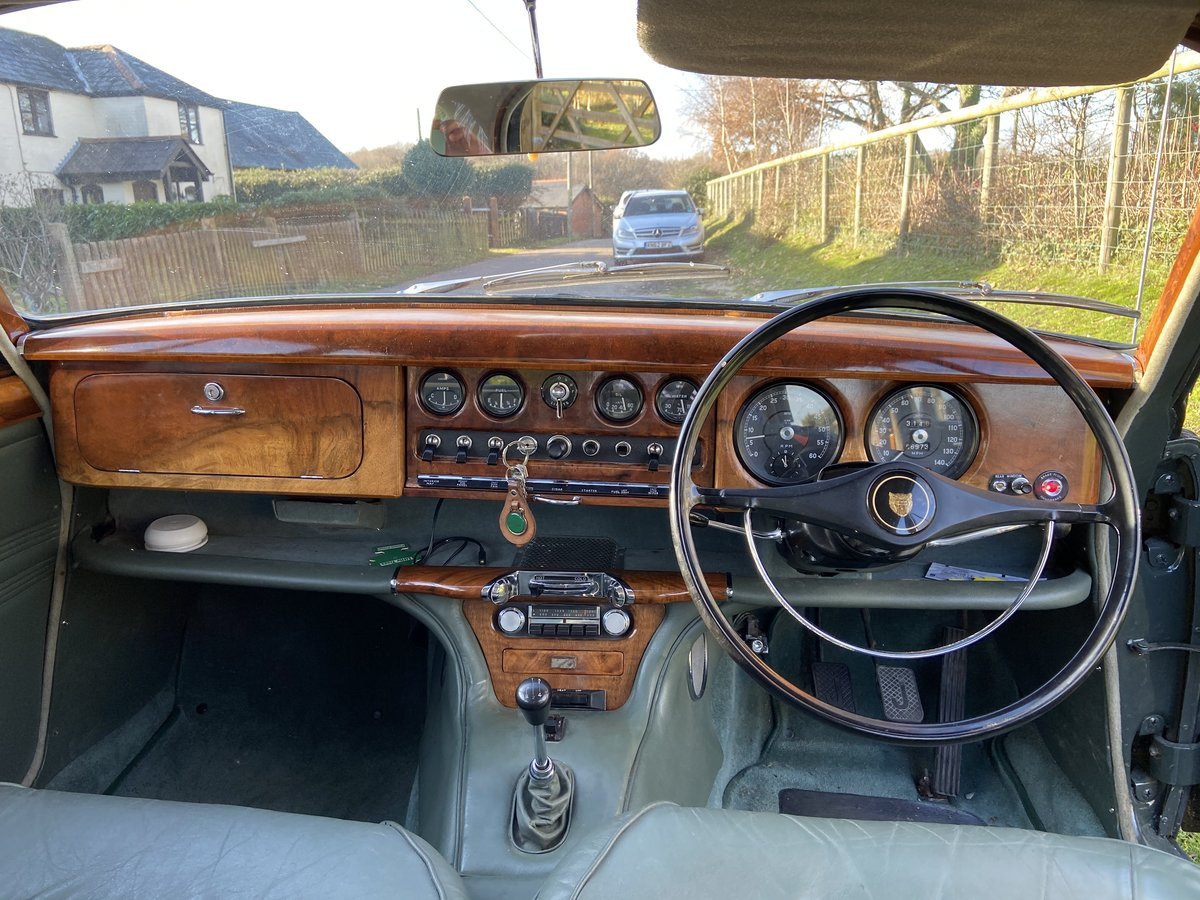 1964 Jaguar 3.8 S Type Manual with OD For Sale (picture 4 of 6)