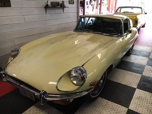 1969 Jaguar E Type Brilliant Pound is up Price is Down