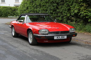 1990 Jaguar XJS V12 Convertible, 57k miles, FSH For Sale