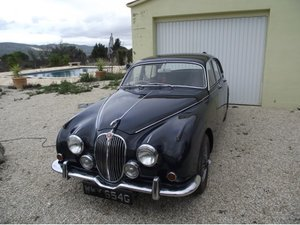 Jaguar MK2 240 Manual with O/d RHD located in Spain