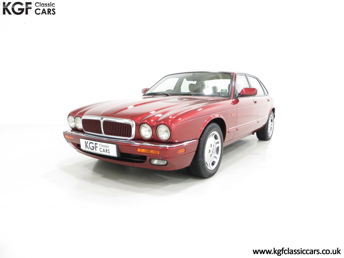 1997 Jaguar XJ6 Sport 3.2 X300 with 49,953 Miles and 18 Services SOLD (picture 2 of 6)