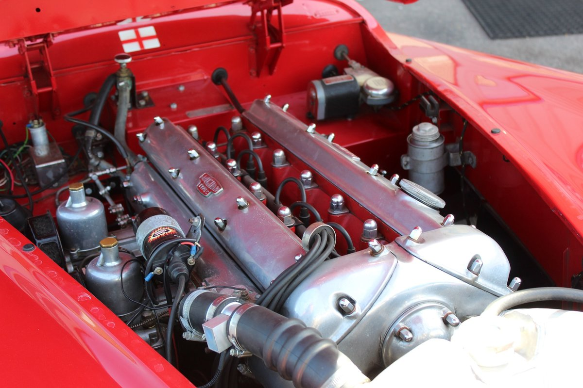 1956 Red Jaguar XK140 MC LHD For Sale (picture 4 of 5)