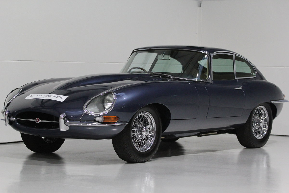 1966 JAGUAR E TYPE S1 FHC RHD For Sale (picture 1 of 6)
