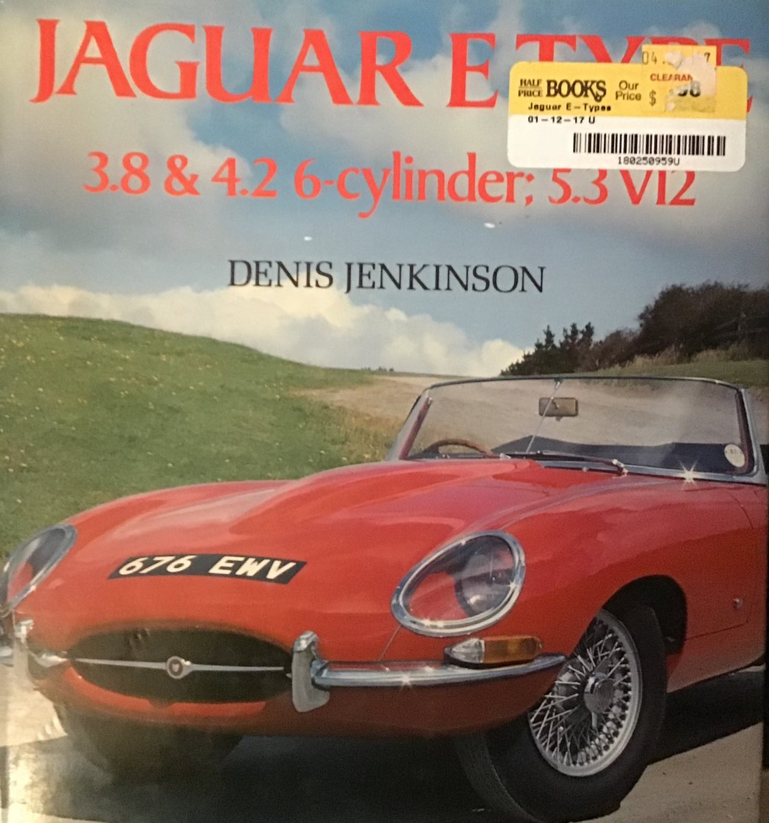 1950 JAGUAR E TYPE COLLECTION OF BOOKS For Sale (picture 6 of 6)