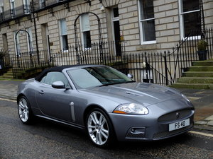 2008 JAGUAR XKR SUPERCHARGED CONVERTIBLE - 42K MILES - STUNNING ! SOLD