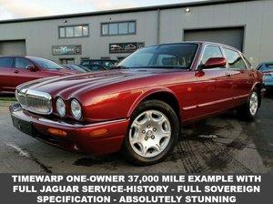 2000 XJ Jaguar Service History 37,000 Miles - One Owner