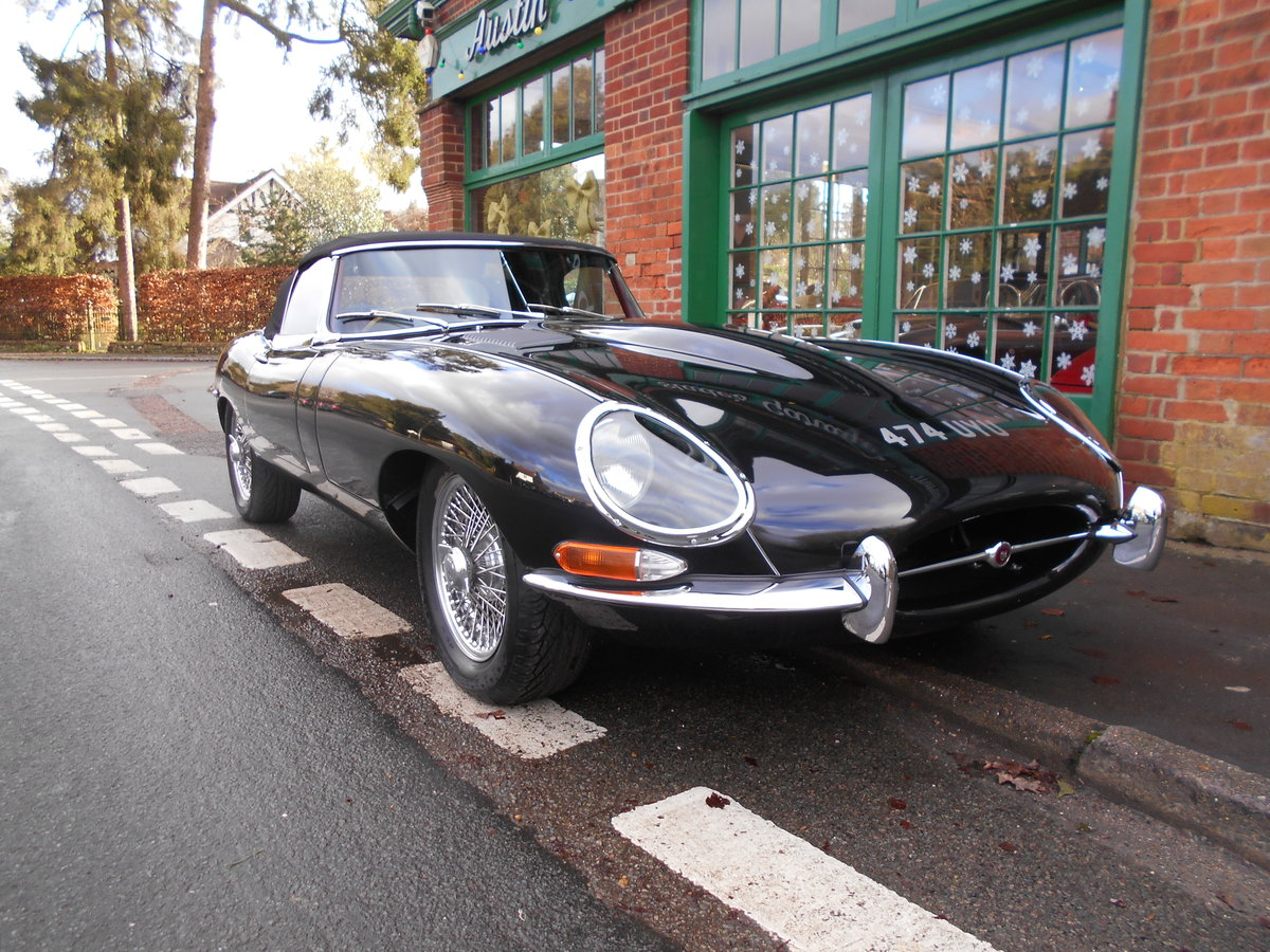 1962 Jaguar E-Type Roadster 3.8  For Sale (picture 2 of 6)