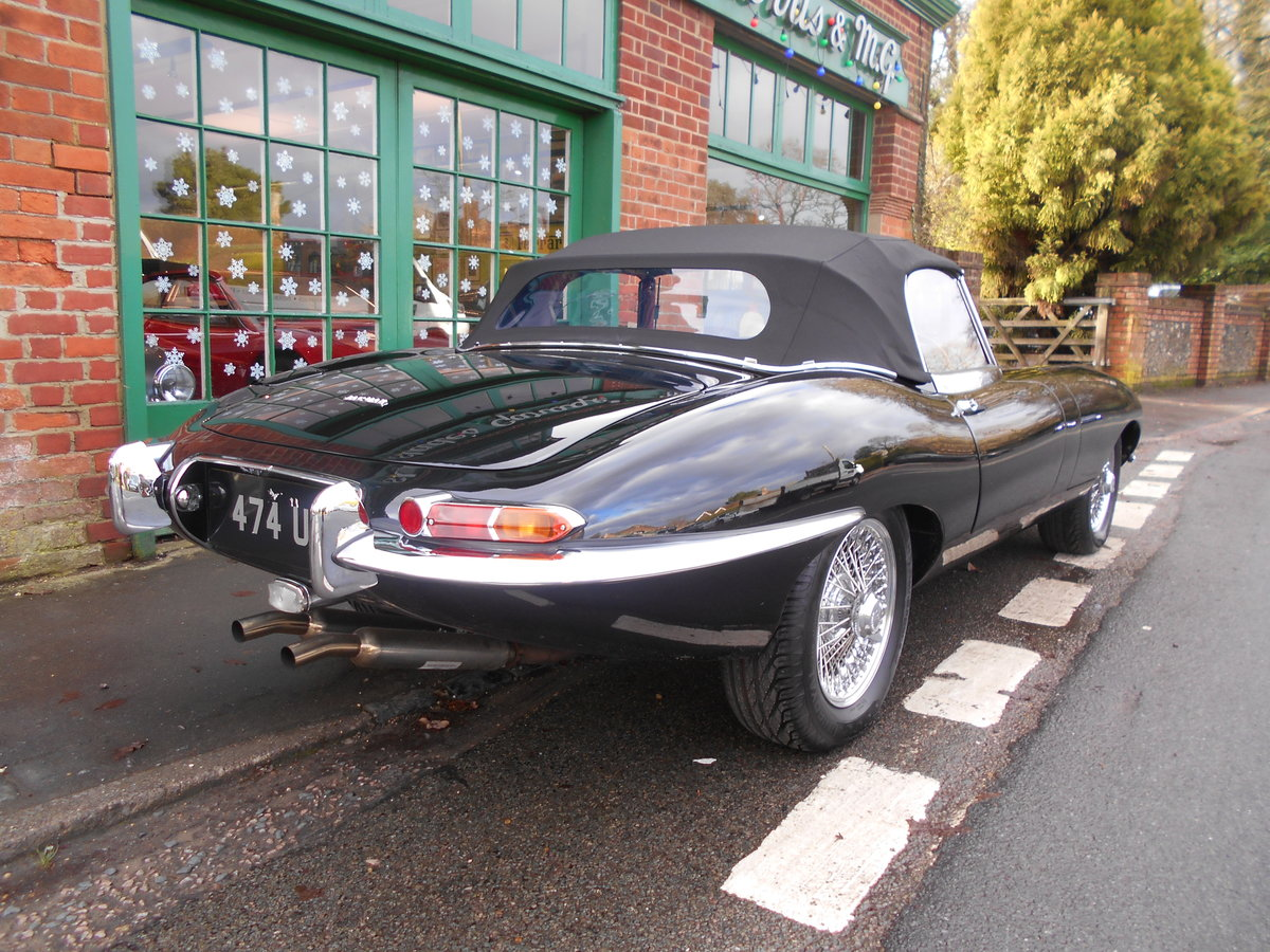 1962 Jaguar E-Type Roadster 3.8  For Sale (picture 3 of 6)