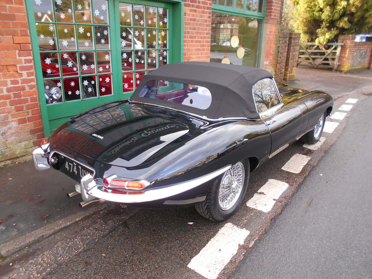 1962 Jaguar E-Type Roadster 3.8  For Sale (picture 6 of 6)
