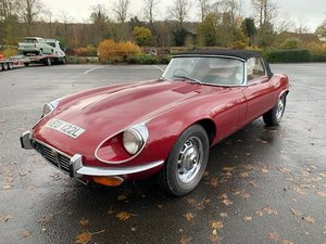 **REMAINS AVAILABLE** 1972 Jaguar E-Type Series III Roadster For Sale by Auction