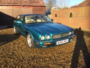 1994 Very rare X300 XJR in Turquoise with Ivory trim SOLD