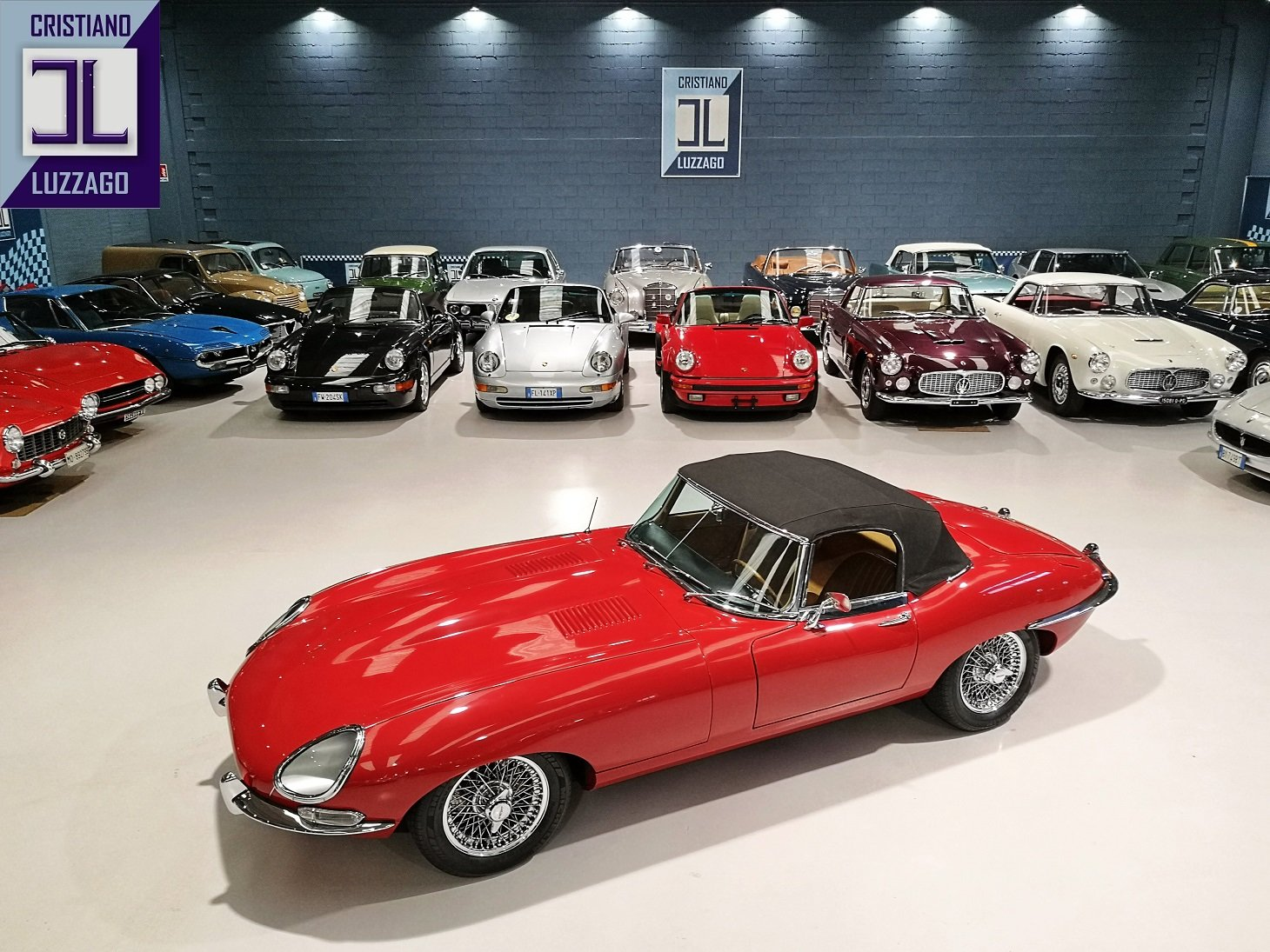 WONDERFUL 1966 JAGUAR E TYPE S1, 4200 ROADSTER For Sale (picture 1 of 6)