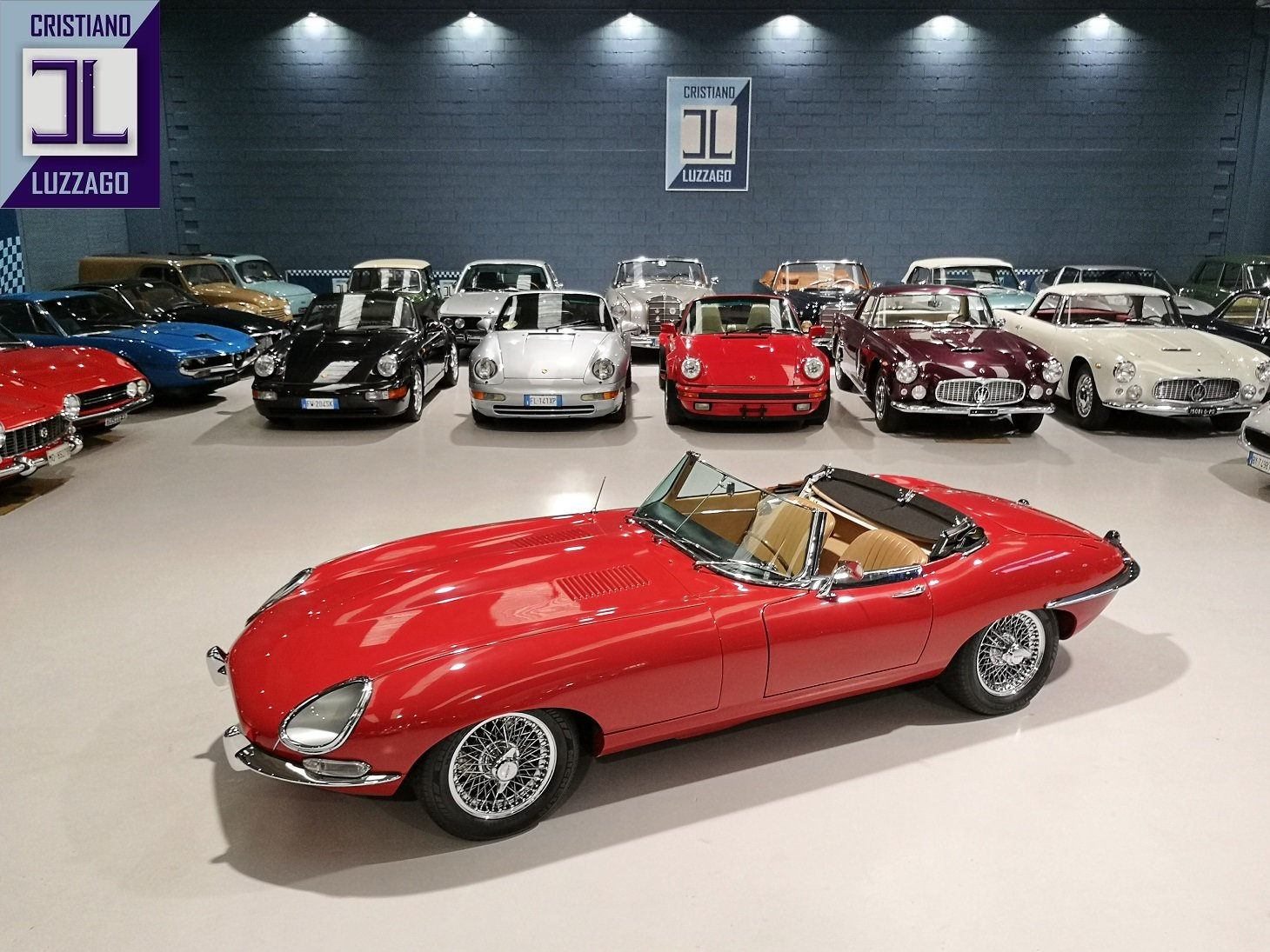 WONDERFUL 1966 JAGUAR E TYPE S1, 4200 ROADSTER For Sale (picture 2 of 6)