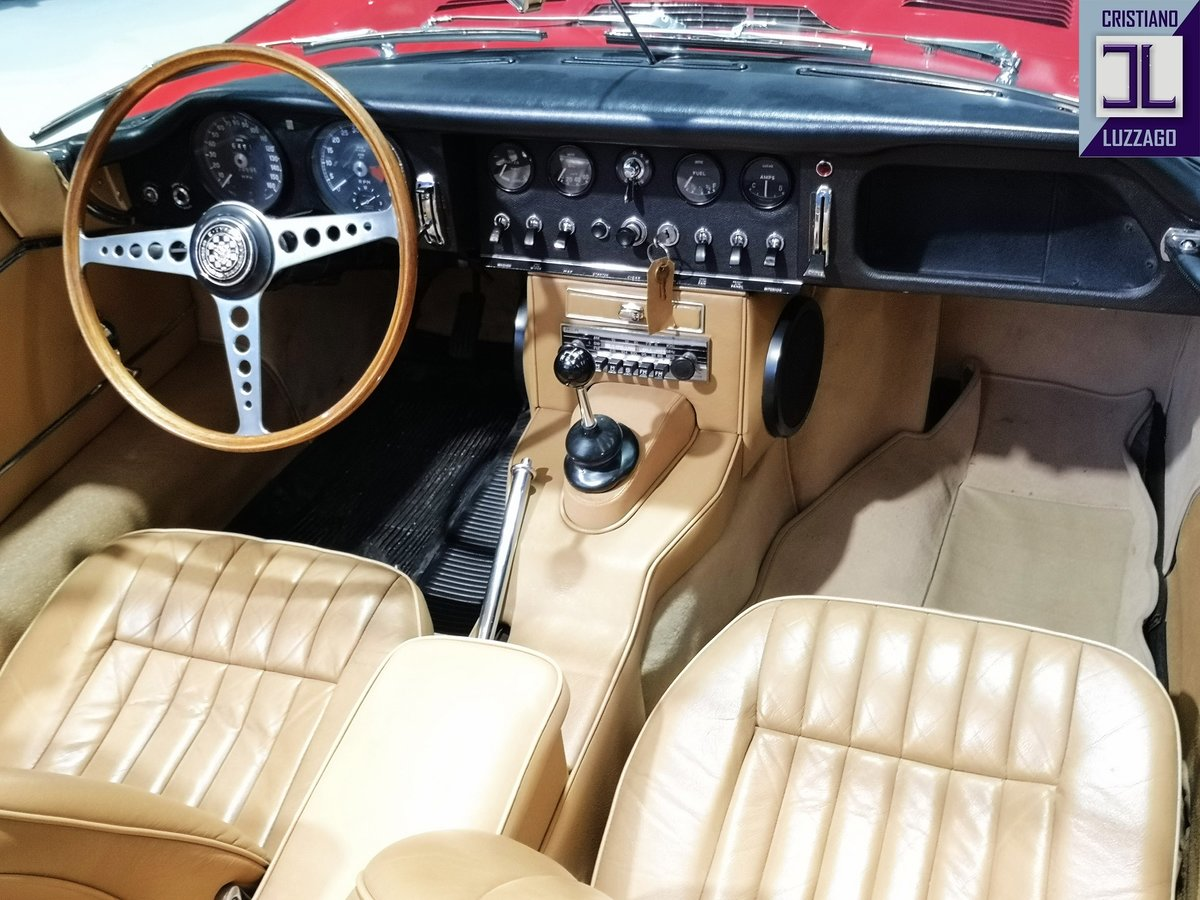 WONDERFUL 1966 JAGUAR E TYPE S1, 4200 ROADSTER For Sale (picture 3 of 6)