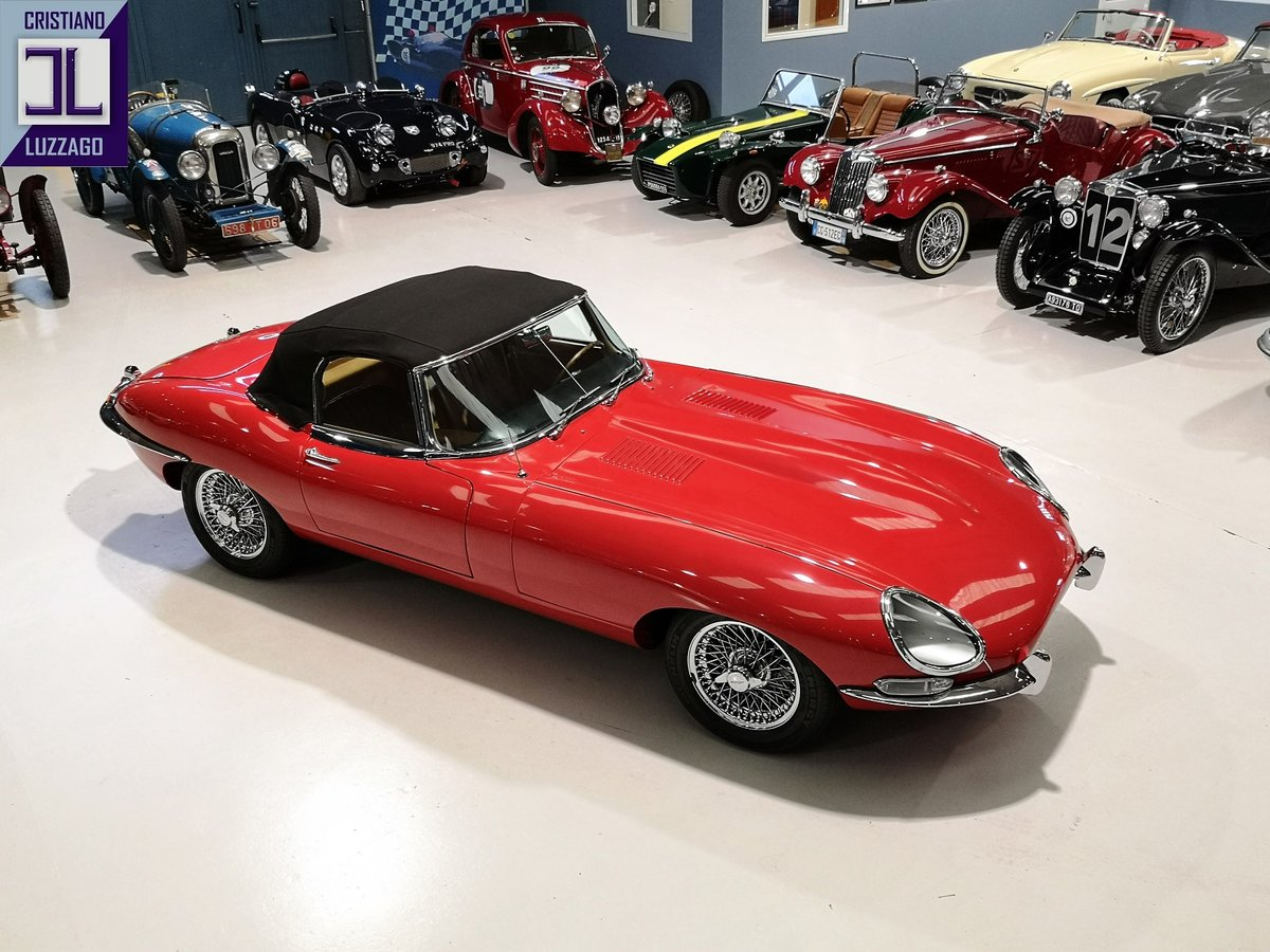 WONDERFUL 1966 JAGUAR E TYPE S1, 4200 ROADSTER For Sale (picture 5 of 6)