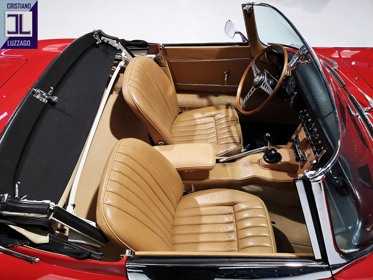 WONDERFUL 1966 JAGUAR E TYPE S1, 4200 ROADSTER For Sale (picture 6 of 6)