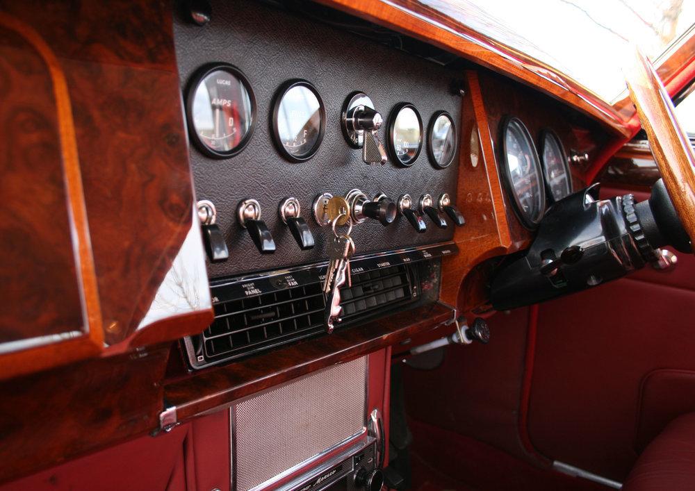 1963 JAGUAR MK2 3.8 MOD For Sale (picture 5 of 6)