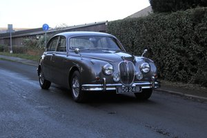 1964 Jaguar MKII 3.4 Manual O/D, Stunning with excellent history For Sale