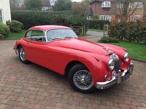 1959 Jaguar XK150 FHC 3.8 RHD Matching Numbers For Sale