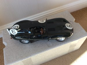 1955 1:12 scale D Type Auto Art model