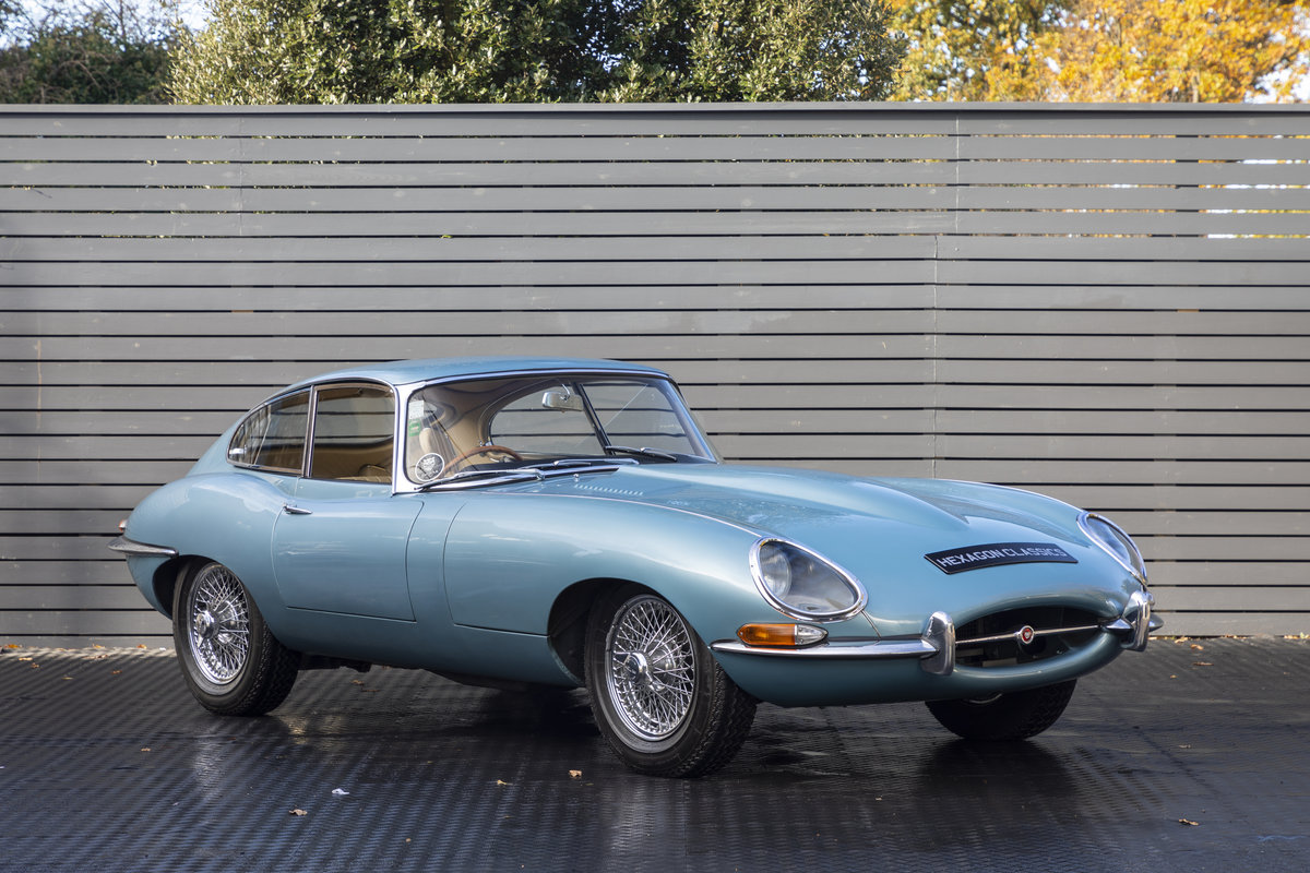 1965 Jaguar E Type 4.2 Series I ONLY 10400 MILES For Sale (picture 1 of 23)