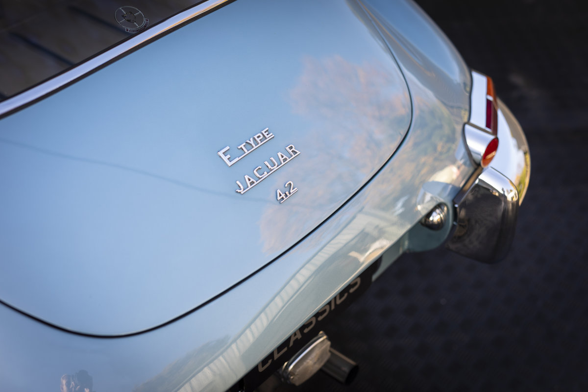 1965 Jaguar E Type 4.2 Series I ONLY 10400 MILES For Sale (picture 23 of 23)