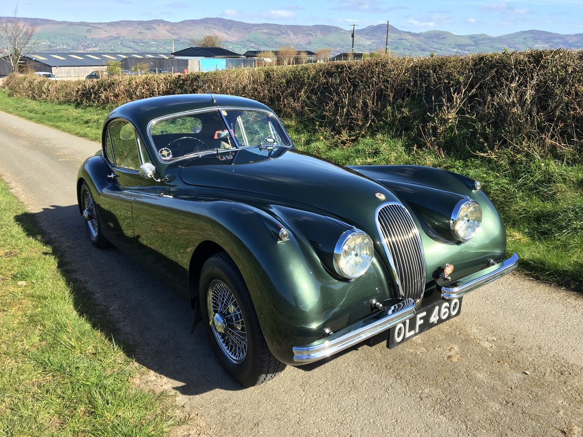 1953 Jaguar XK120 FHC Fixed Head Coupe  For Sale (picture 1 of 6)