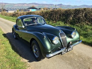 1953 Jaguar XK120 FHC Fixed Head Coupe  For Sale