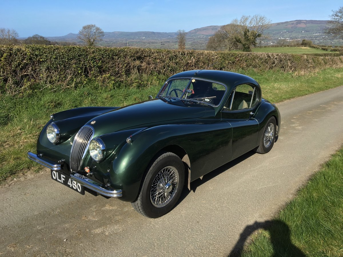 1953 Jaguar XK120 FHC Fixed Head Coupe  For Sale (picture 2 of 6)