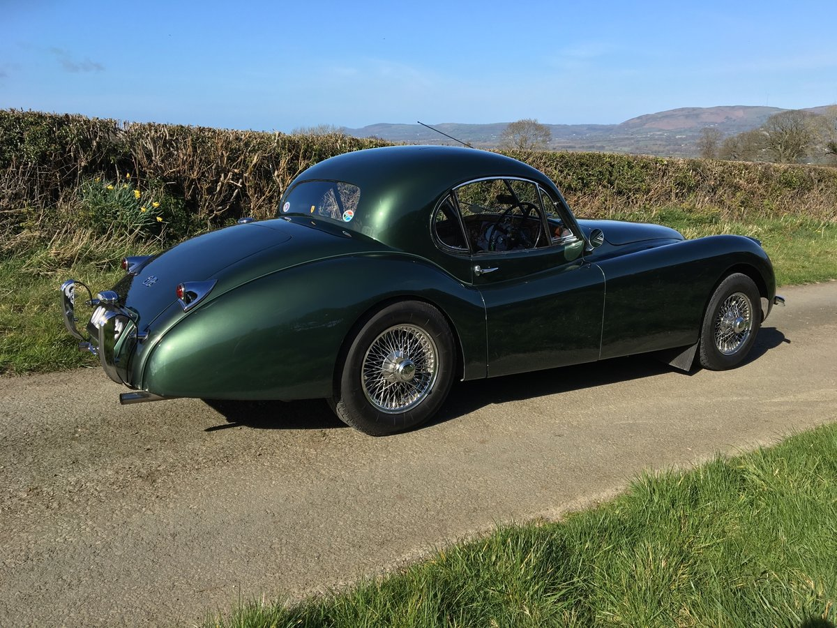 1953 Jaguar XK120 FHC Fixed Head Coupe  For Sale (picture 3 of 6)