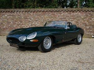 1962 Jaguar E-Type 'lightweight' 4.8 convertible triple Weber For Sale