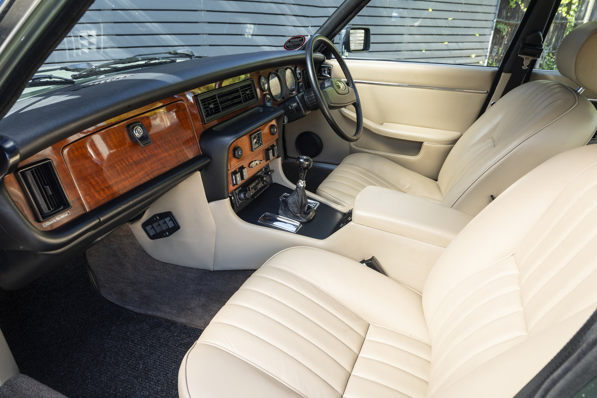 1985 JAGUAR XJ6 4.2 SERIES III, MANUAL ONLY 8200 MILES For Sale (picture 6 of 22)