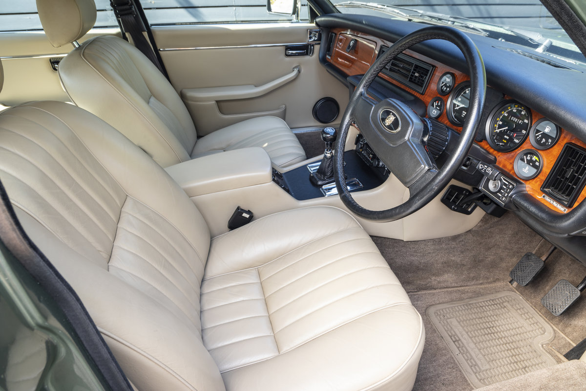 1985 JAGUAR XJ6 4.2 SERIES III, MANUAL ONLY 8200 MILES For Sale (picture 7 of 22)