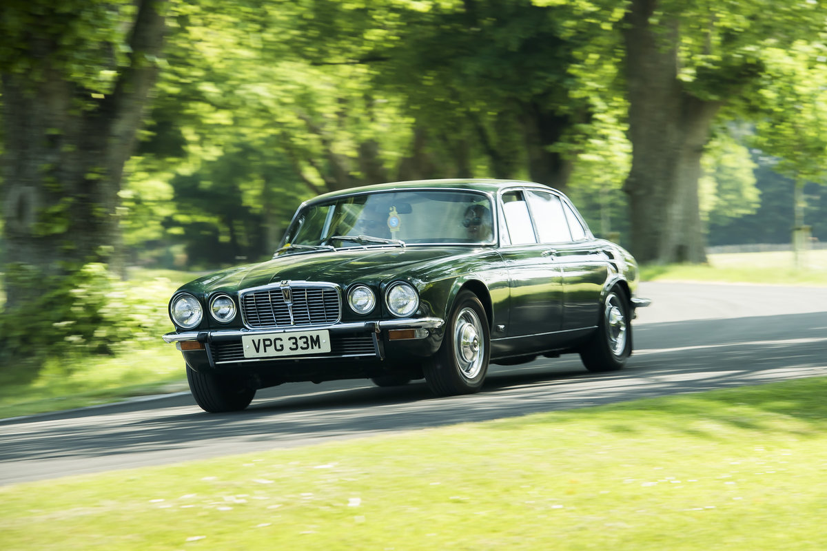 1974 Jaguar XJ12L Completely original with 27,236 miles from new For Sale (picture 1 of 6)