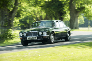1974 Jaguar XJ12L Completely original with 27,236 miles from new