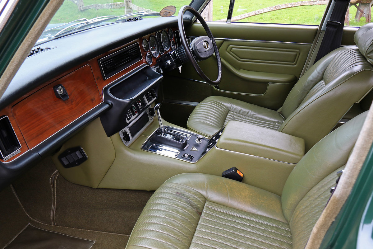 1974 Jaguar XJ12L Completely original with 27,236 miles from new For Sale (picture 2 of 6)