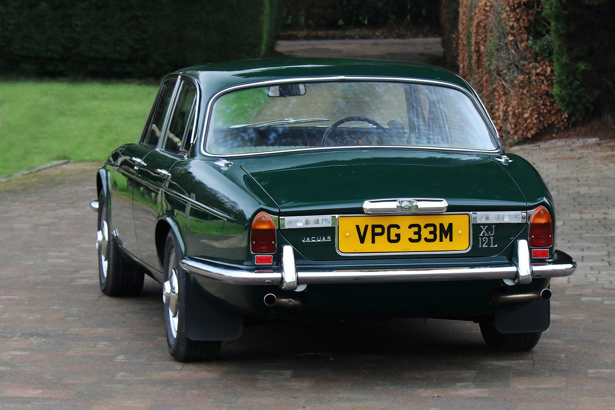 1974 Jaguar XJ12L Completely original with 27,236 miles from new For Sale (picture 5 of 6)