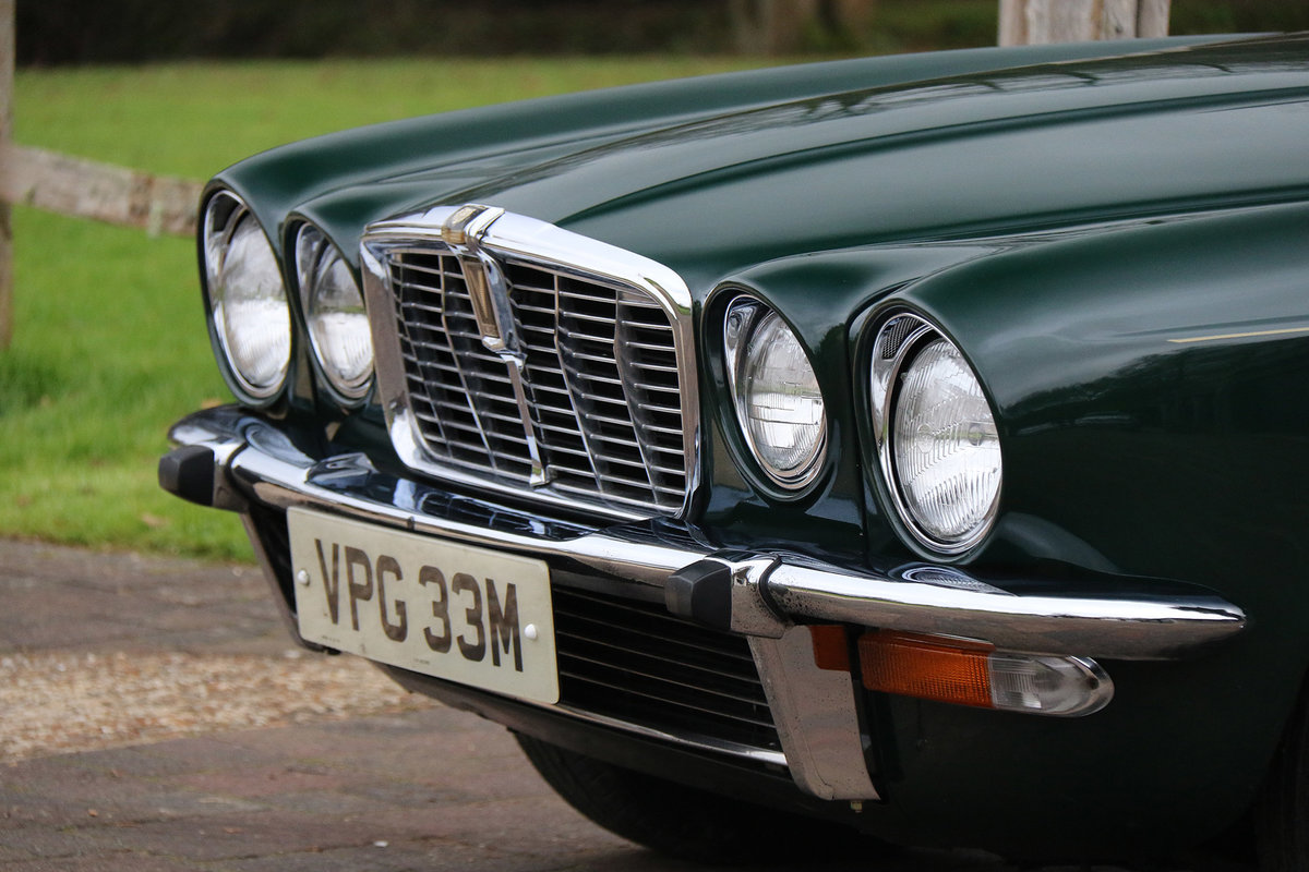 1974 Jaguar XJ12L Completely original with 27,236 miles from new For Sale (picture 6 of 6)