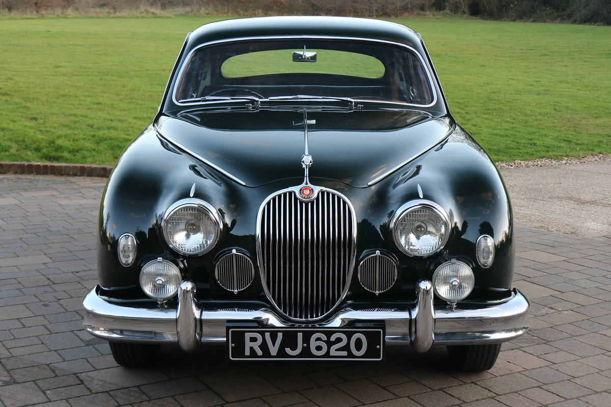 1958 Jaguar MK1 Exceptionally original with 26,553 miles from new For Sale (picture 2 of 6)