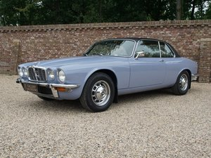 Jaguar XJ6 4.2 Coupe Series 2 RHD well documented