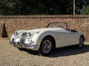 Jaguar XK 150 OTS 3.4 Roadster overdrive, restored condition