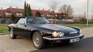 "1989 Jaguar XJS V12 Convertible Guy Salmon ""ONE OWNER""  For Sale"
