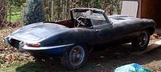 1968 JAGUAR E TYPE SERIES 1.5 ROADSTER FOR FULL RESTORATION  For Sale