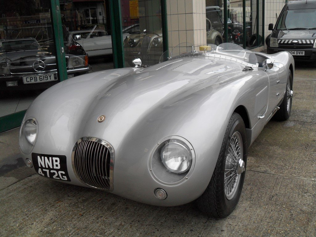 2016 Jaguar C Type Realm Engineering Recreation 4.2 Triple Webber For Sale (picture 3 of 5)