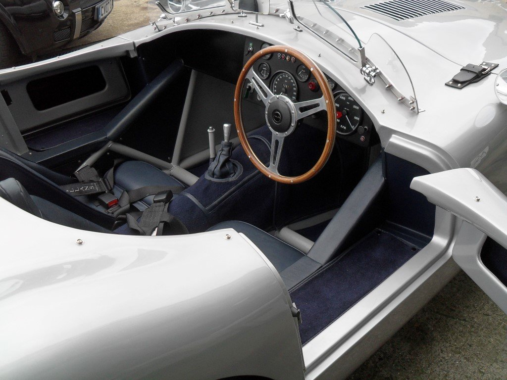 2016 Jaguar C Type Realm Engineering Recreation 4.2 Triple Webber For Sale (picture 4 of 5)