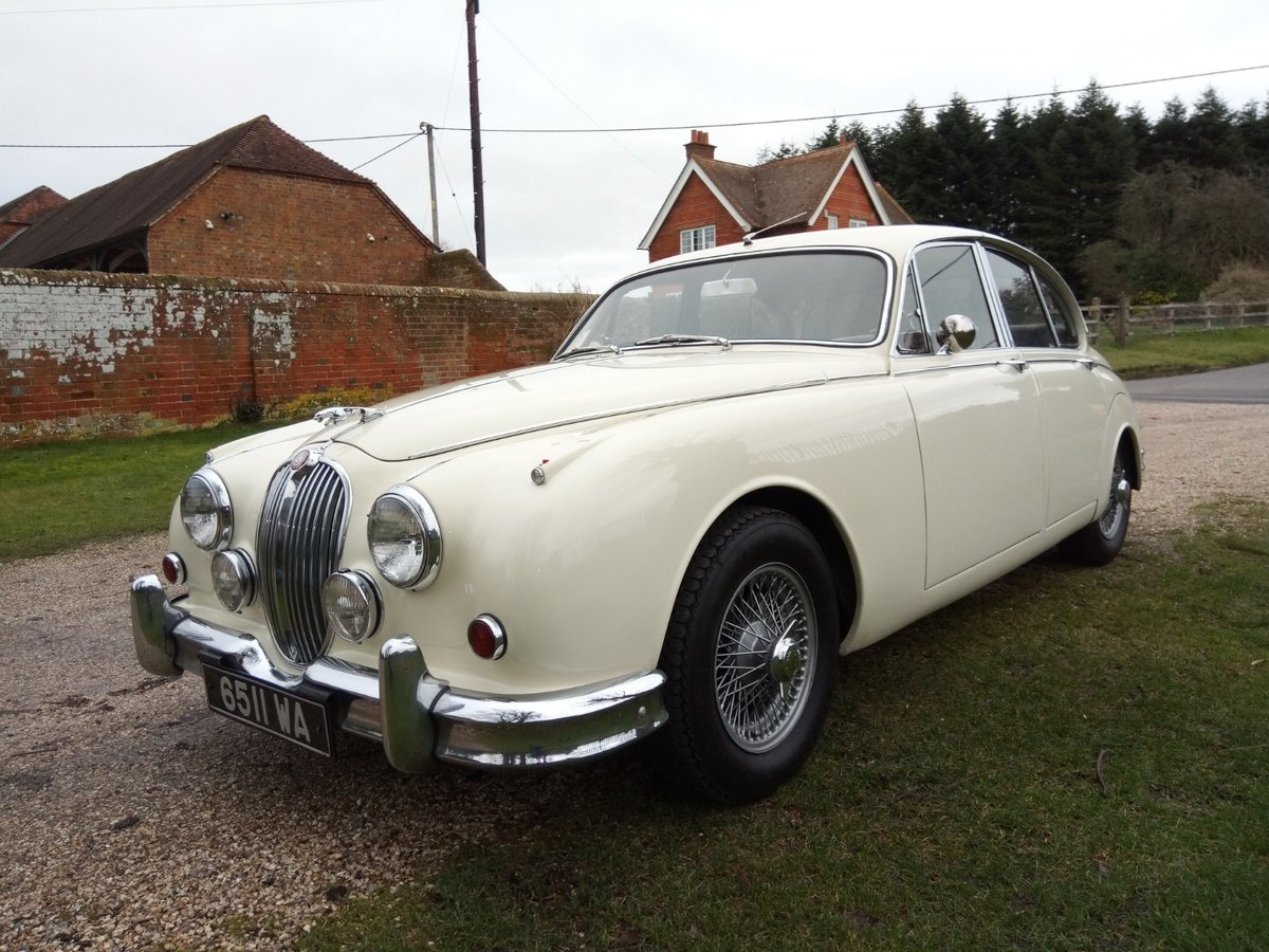 Fabulous 1961 Jaguar Mk 2 3.8 manual/overdrive SOLD (picture 1 of 6)