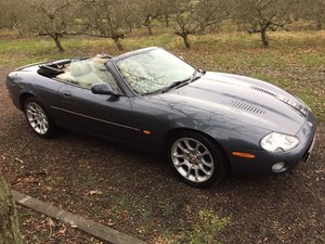 Jaguar XKR 4.0 Convertible 2001 Graphite Grey Met For Sale