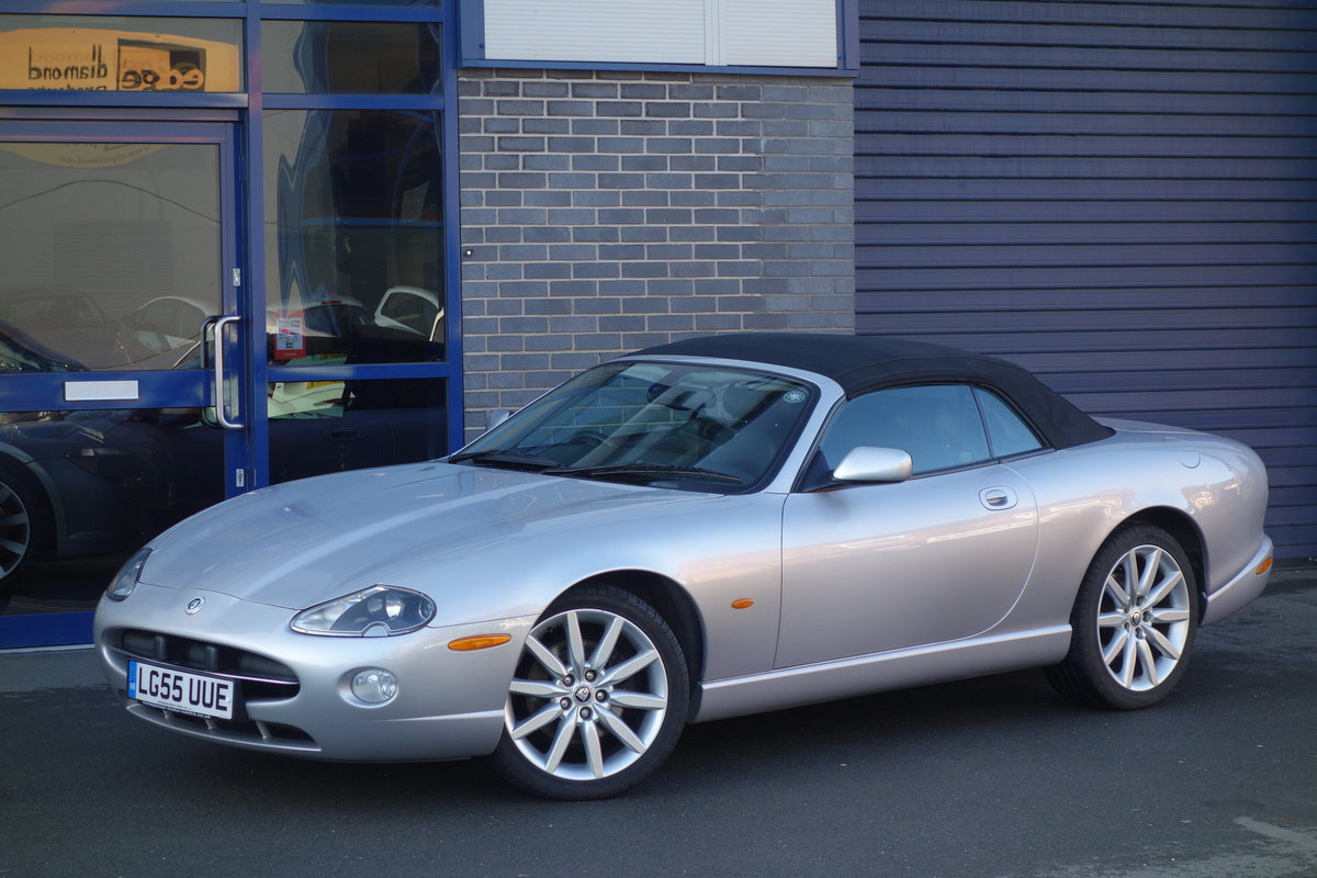 2005 Jaguar 4.2-S Convertible Final Edition Genuine Classic FSH For Sale (picture 3 of 6)