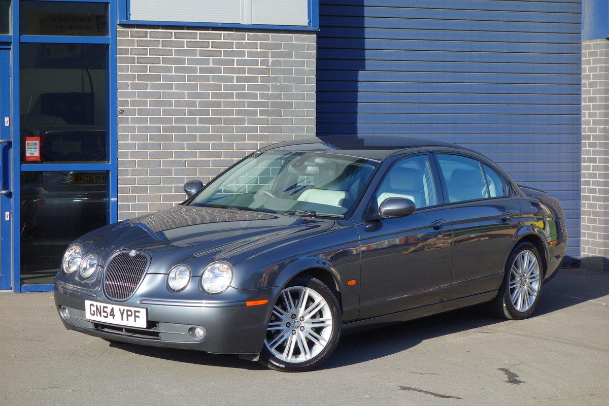Jaguar S-Type 4.2 Sport Auto 2004/54 FSH 53000m 2005 Model For Sale (picture 1 of 6)