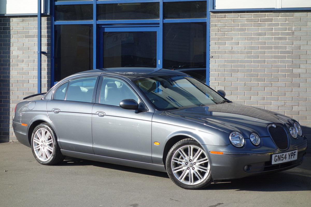 Jaguar S-Type 4.2 Sport Auto 2004/54 FSH 53000m 2005 Model For Sale (picture 2 of 6)
